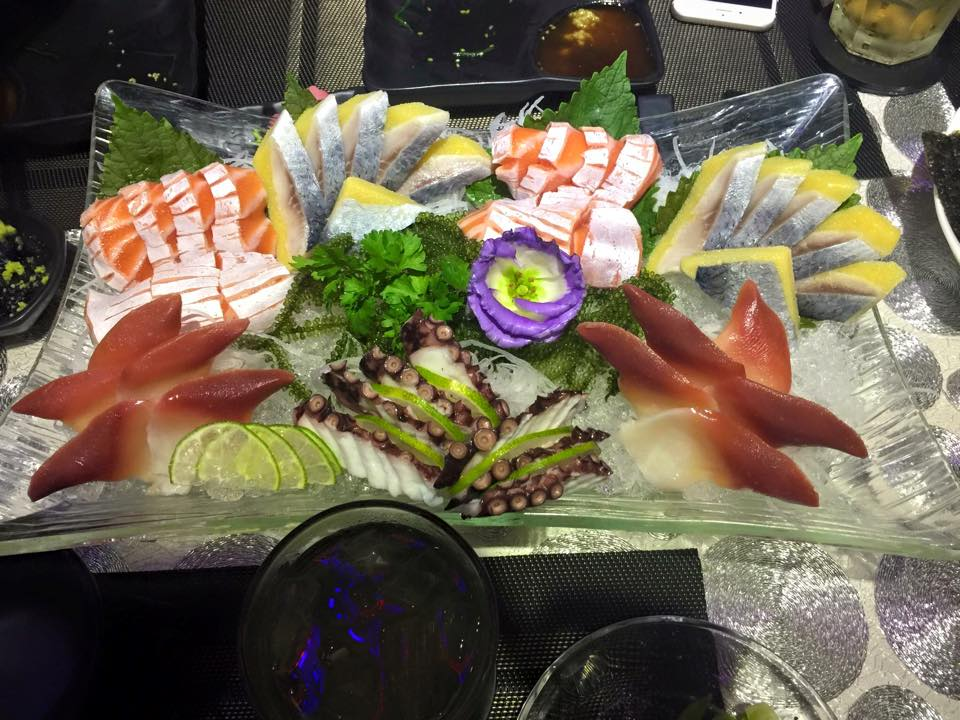 Selection of Sashimi from Ichiba sushi
